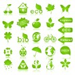 Ecology design elements — Stock Vector