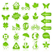 Ecology design elements — Vector de stock