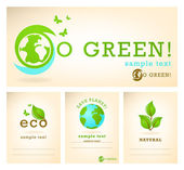 Go green illustration — Stock Vector