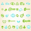 Ecology icon set — Vettoriali Stock