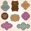 Royalty-Free Stock Immagine Vettoriale: Vintage vector frames