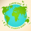 Earth Day Illustration - Imagen vectorial