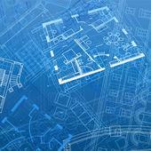 抽象建筑背景 — 图库矢量图片