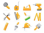 Icons for tools — Stock Vector