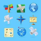 ícones para navegação — Vetorial Stock