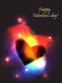 Valentine reactor — Stock Vector