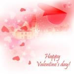 Valentine plane — Stock Vector #4181328