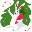 Belrabbit — Stock Vector