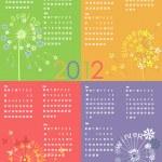 Calendar 2012 — Stock Vector #5245260
