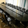 Stock Photo: Empty board room