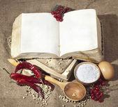 Livro velho esfarrapado — Foto Stock