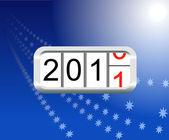 Yeni 2011. — Stok Vektör