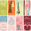 Royalty-Free Stock Vectorielle: Christmas banners set