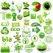logotipos bio y eco — Vector de stock
