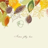 Autumn background — Wektor stockowy