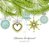 Stylish Christmas background — Stock Vector