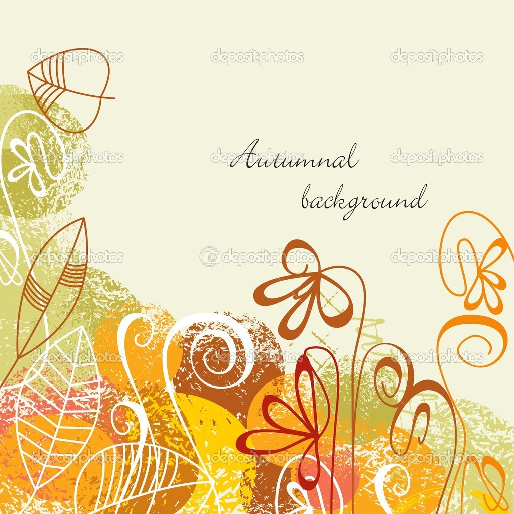 Fall background in bright colors — Stock Vector #4043671