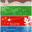 Christmas banners — Stock Vector #4135457
