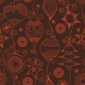 Lindo fondo transparente de Navidad — Vector de stock