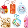 Gift tags — Stock Vector