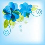 Floral corner — Stock Vector #4916898