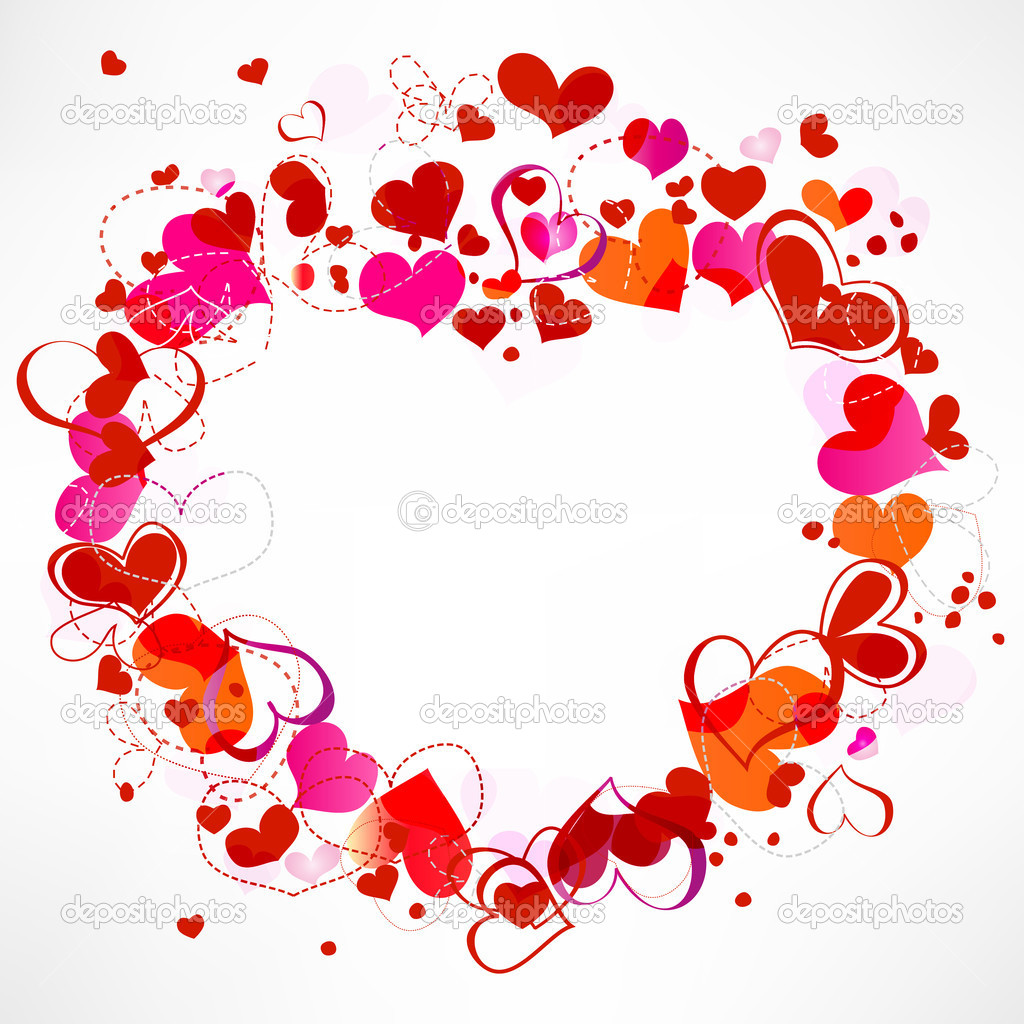 Hearts frame — Stock Vector #4914669