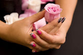Manicure — Stok fotoğraf