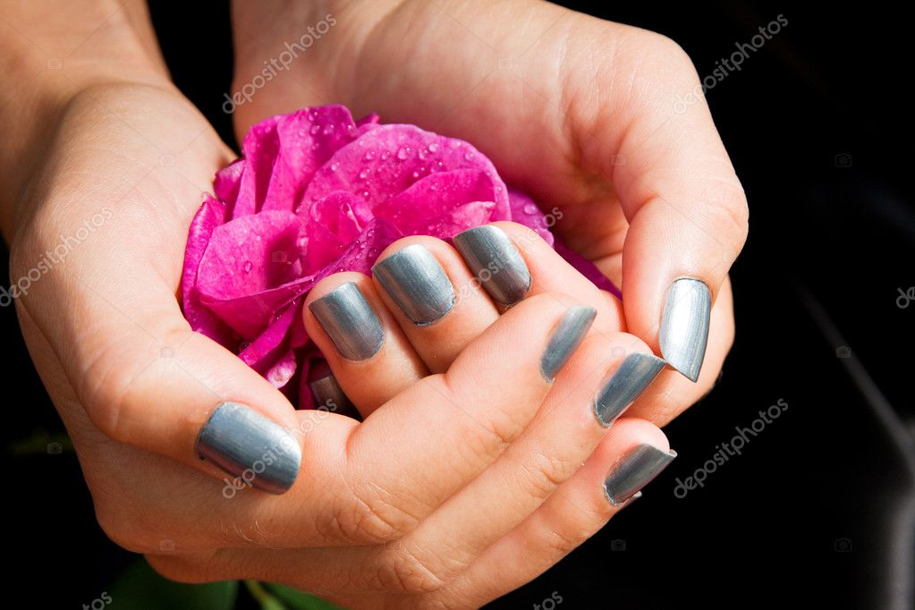 Woman manicure arranged  Stock Photo #4287181