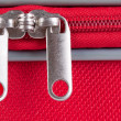 Stock Photo: Suitcase zipper