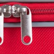 Suitcase zipper - Stock Photo