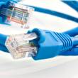 Network cable RJ45 - Stock Photo