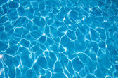 Blue pool's water texture — Stock Photo