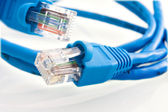 Network cable RJ45 — Stock Photo