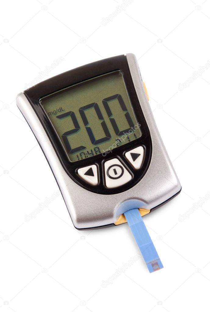 Nivel de glucemia alta — Foto de Stock #5117967