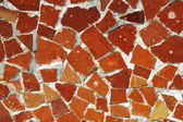 Mosaic ornament, Barcelona — Stock Photo