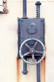 Rusty industrial lock — Stock Photo