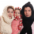 Winter family — Stock Photo #4240541