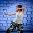 Hip hop dancer - Stock Photo