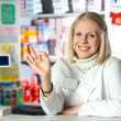 Pharmacist give OK — Stock Photo #5054633