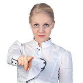 Cazip iş kadını — Stok fotoğraf