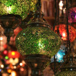 Lamps at grand bazaar — Stock Photo