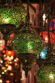 Lamps at grand bazaar — Foto Stock