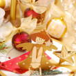 Christmas table decoration — Stock Photo #4163451
