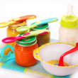 Baby food — Stock Photo #4163491
