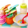 Stock Photo: Baby food
