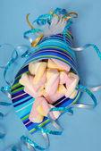 Marshmallow candies — Stock Photo