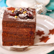 Christmas gingerbread cake — Stock Photo