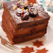 Stock Photo: Christmas gingerbread cake