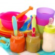 Baby food — Stock Photo #4424090