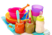 детское питание — Стоковое фото